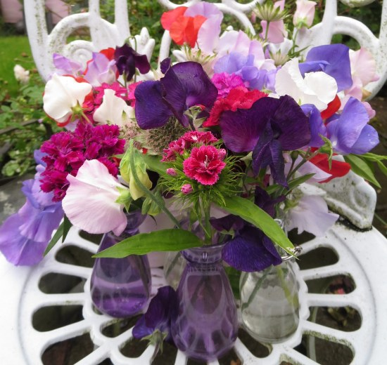 In A Vase On Monday After The Ball Is Over Rambling In The Garden